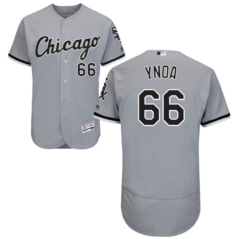 Chicago White Sox Michael Ynoa Youth Gray Road Flex Base Jersey